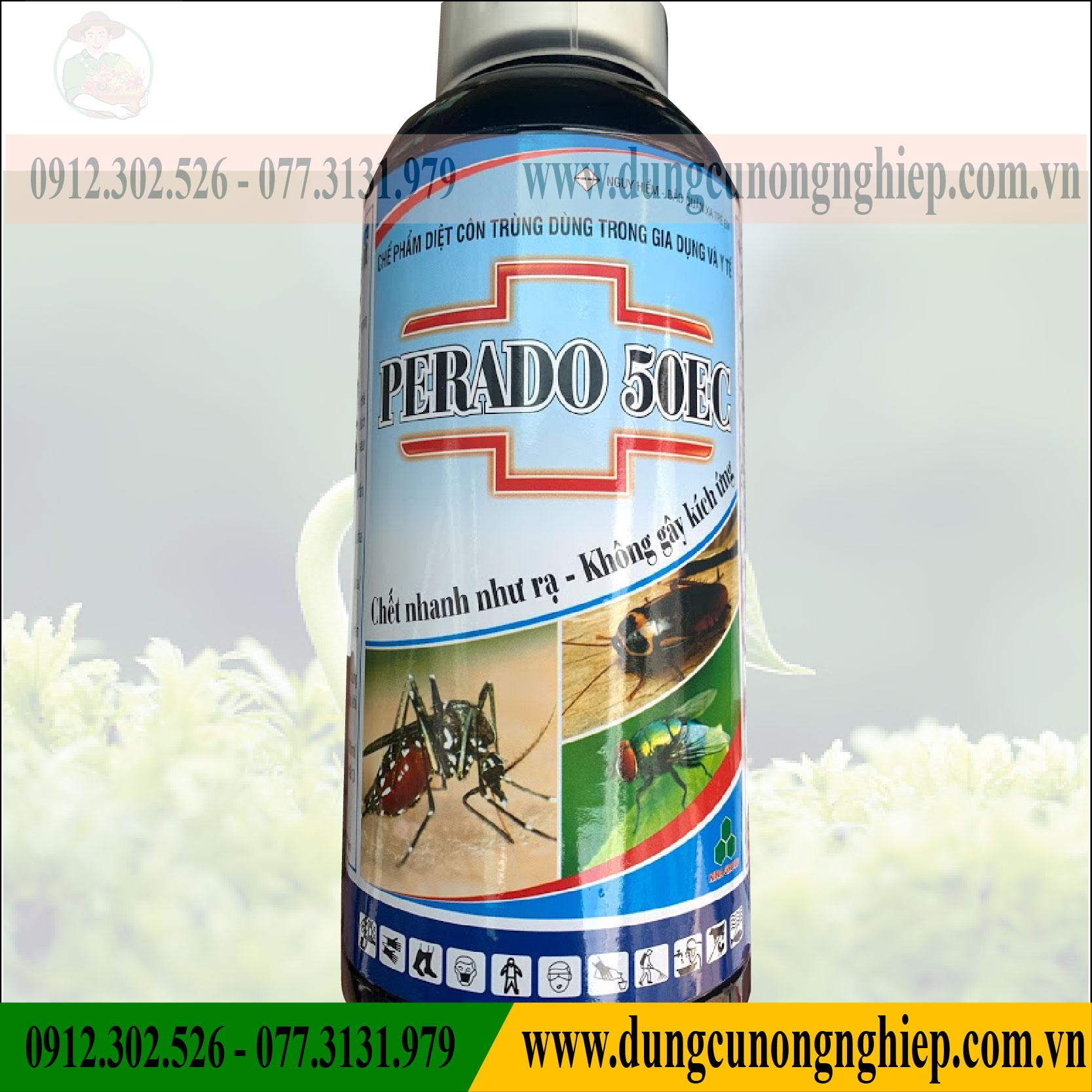 Thuốc Trừ Muỗi PERADO 50SC (1 lít)