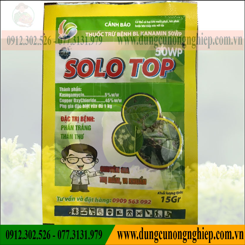 THUỐC TRỪ BỆNH SOLO TOP 50WP – 15gr