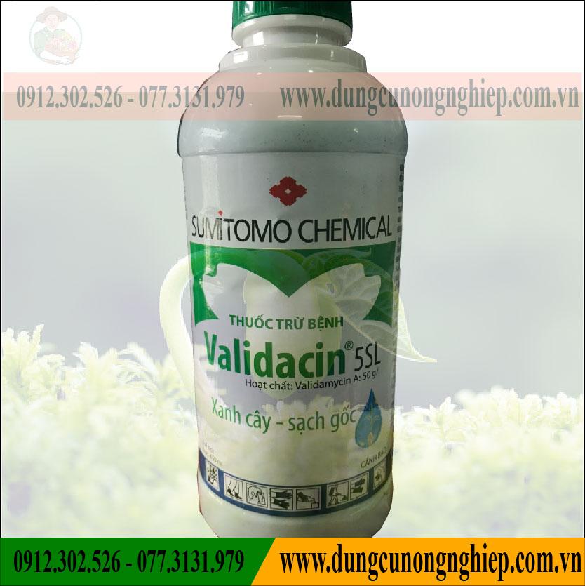 THUỐC TRỪ NẤM BỆNH VALIDACIN 5SL – 480 ML